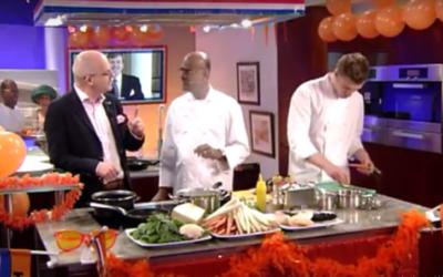 """In het TV programma ~ """" Koningen Relatie"""" op TV Limburg"""